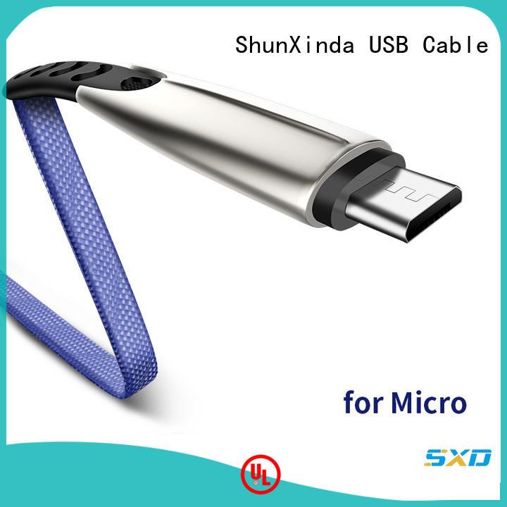 ShunXinda samsung usb to micro usb company for indoor