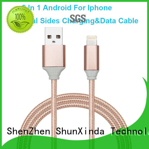 ShunXinda samsung charging cable factory for indoor