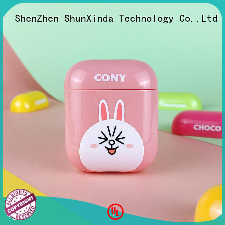 ShunXinda wireless airpods case suppliers for apple airpods