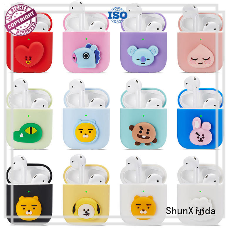 ShunXinda durable wireless airpods case manufacturers for apple airpods