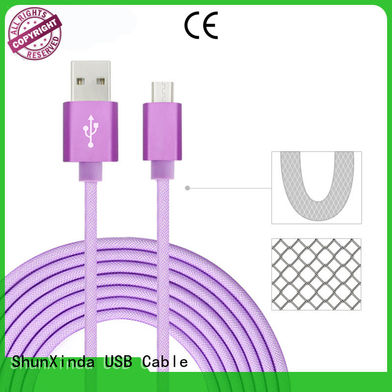 Latest fast charging usb cable micro company for car
