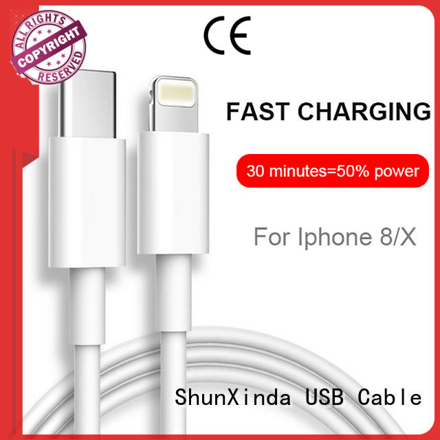 ShunXinda High-quality apple charger cable factory for indoor