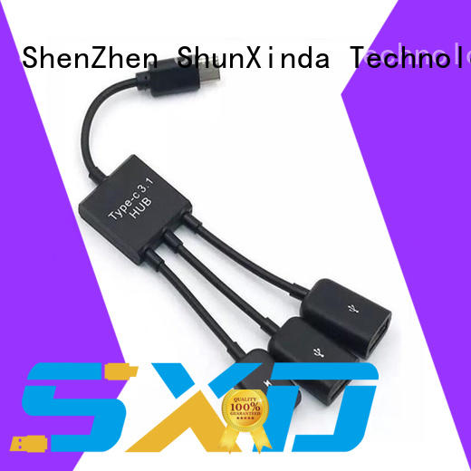 ShunXinda New usb cable with multiple ends manufacturers for indoor