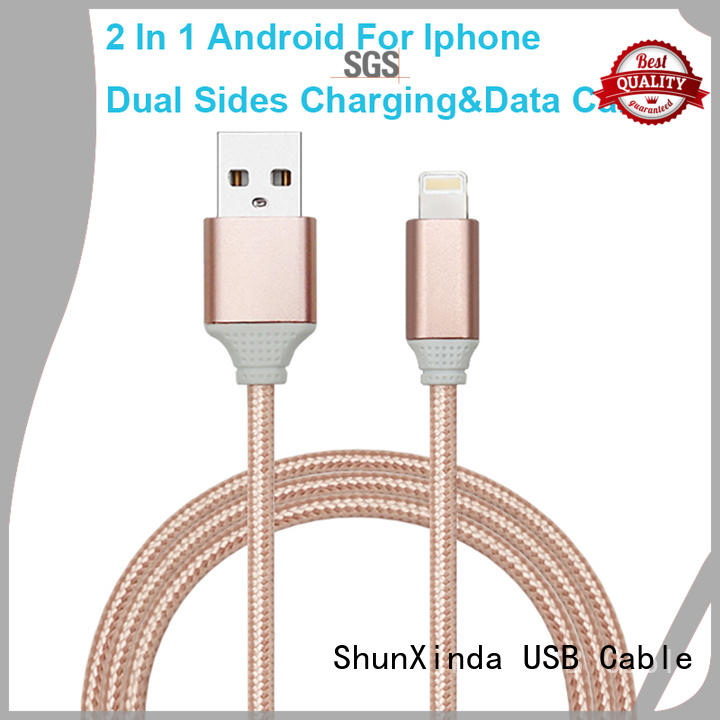 Hot retractable charging cable samsung ShunXinda Brand
